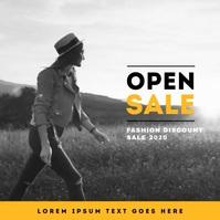 FASHION Sale Video Template Albumcover