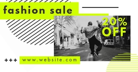 fashion sales advertisement facebook ad template