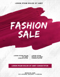 Fashion Season Sale Flyer Template