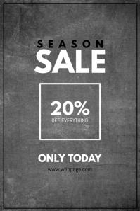 Fashion Season Sale Flyer Template