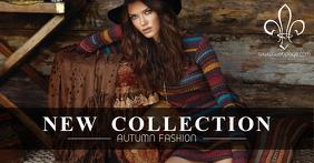 Fashion Season Sale retail facebook shared image autumn