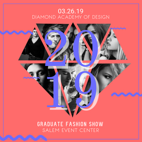 Fashion Show 2019 Instagram Post