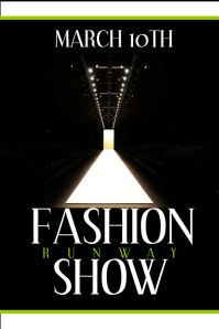 Customizable design templates for fashion show postermywall stopboris Image collections