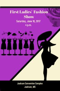 Customizable Design Templates for Fashion Show | PosterMyWall