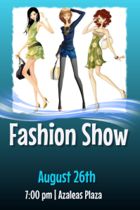 650+ Fashion Show Customizable Design Templates