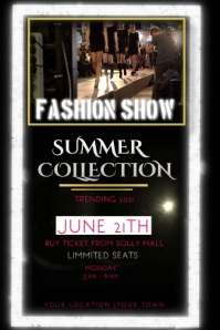 fashion show template Iphosta