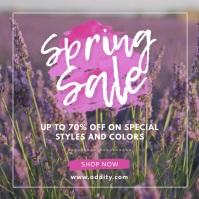 Fashion Spring Sale Advert