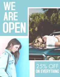 fashion store design template white and light