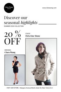 Fashion Store Flyer