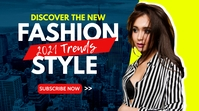 fashion style advertising youtube video thumb template