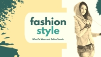 Fashion Style Header Blog template
