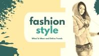 Fashion Style Blog overskrift template