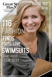 Fashion Style Magazine Cover