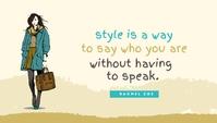 Fashion Style Templates Header Blog