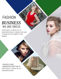 FASHION TEMPLATE FLYER