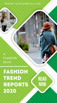 Fashion Trends Online Report WhatsApp Ad