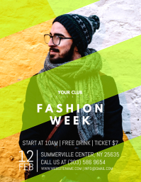 20600 customizable design templates for fashion event postermywall fashion week flyer maxwellsz