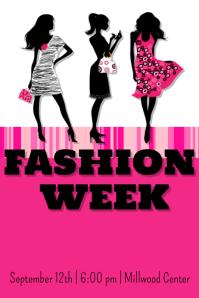 Fashion Week  Fashion Poster Design