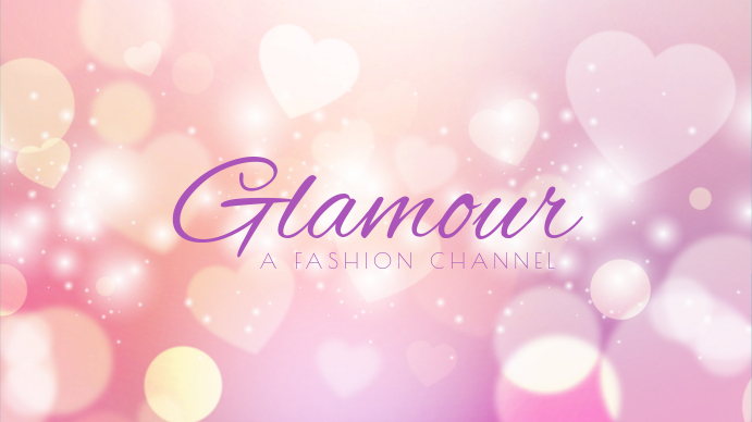 Fashion youtube channel art template postermywall fashion youtube channel art template maxwellsz