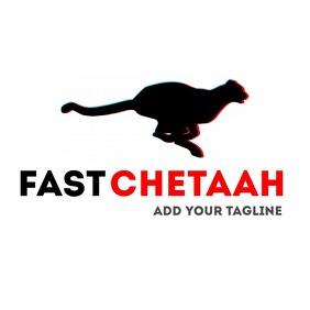 fast chetaah logo icon