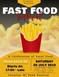 Fast Food Festival with Video