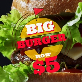 Fast Food Instagram Video Template