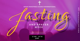FASTING AND PRAYER TEMPLATE Facebook Shared Image
