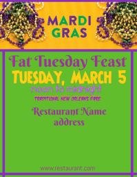 Fat Tuesday or Mardi Gras