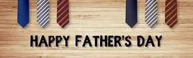 Father's day,event,party ,retail LinkedIn-achtergrondafbeelding template