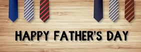Father's day,event,party ,retail Cover na Larawan ng Facebook template