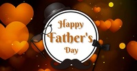 Father's day,event,party Facebook-Veranstaltungscover template