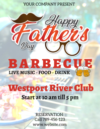 Father's Day bbq party design