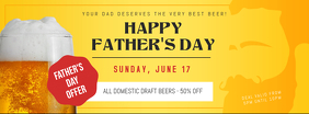 Father's Day Beer Deal Facebook Cover Template