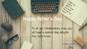 Father's Day card Digitale display (16:9) template