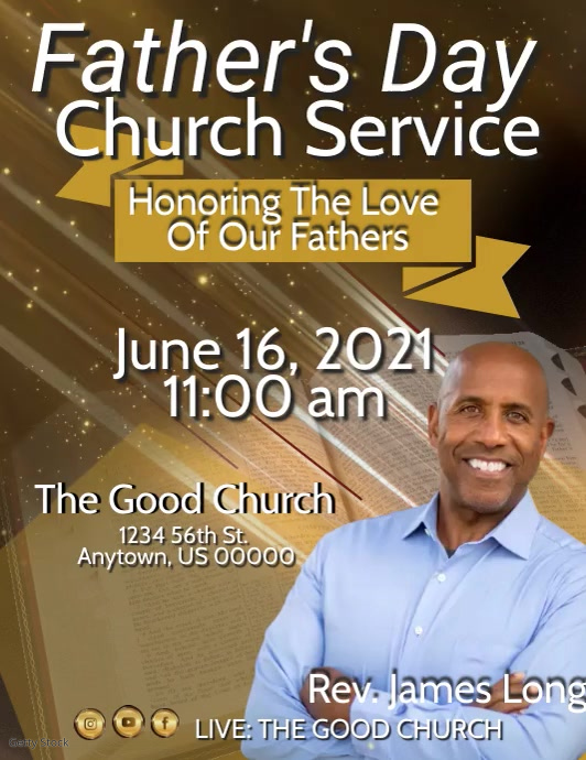 Father's Day Church Service