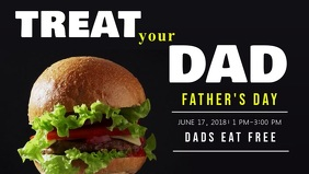 Father's Day Deal Facebook Cover Video Template