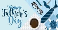 Father's day Design Gedeelde afbeelding op Facebook template