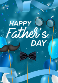 FATHER'S DAY A4 template