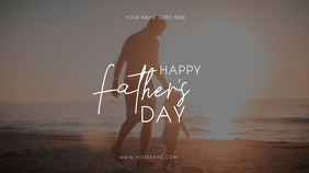 FATHER'S DAY Digitale display (16:9) template