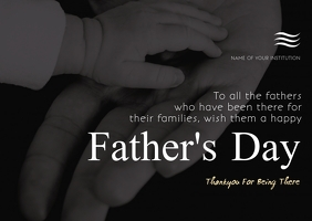 father's day Cartolina template