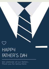 father's day A5 template