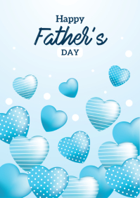 Father's day Design A5 template