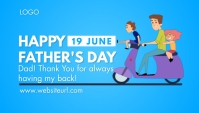 Father's Day Koptekst blog template