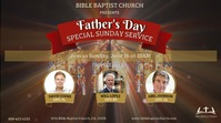 Father's Day Digital Display Video template