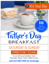 Father's Day Event Ulotka (US Letter) template