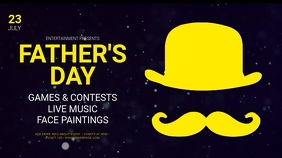 Father's Day Event Digital Display Template