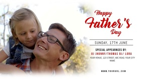 Father's Day Event Facebook Cover Video Template
