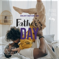 Father's Day Event Instagram post Template