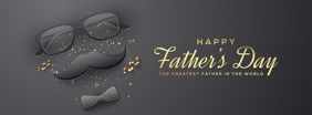 Father's Day Facebook Cover Template
