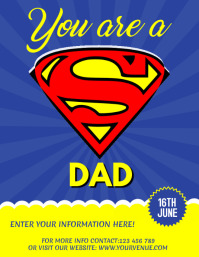 Father's Day Flyer, Father's Day Sale